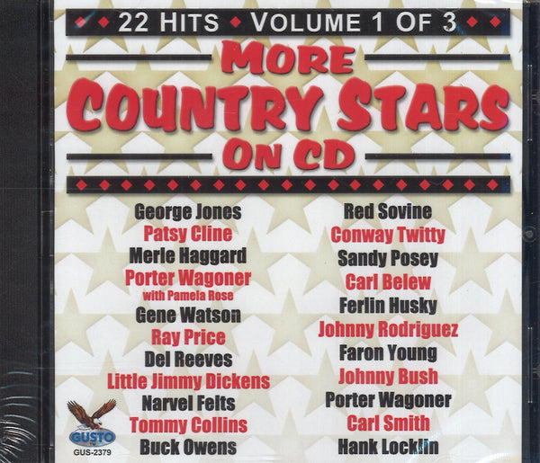 Various Artists More Country Stars On CD Volume 1