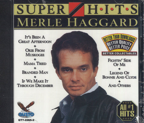 Merle Haggard Super Hits