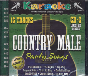 Karaoke Country Male Party Songs