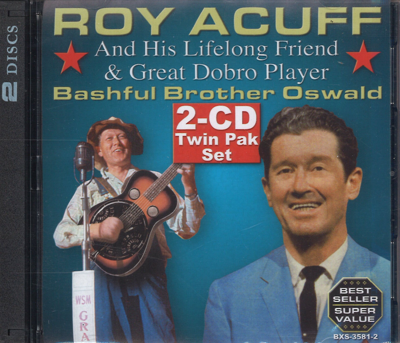 Roy Acuff & Bashful Brother Oswald Twin Pak: 2 CD Set