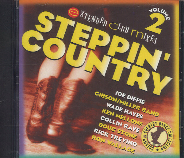 Various Artists Steppin' Country Volume 2