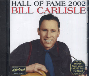 Bill Carlisle Inducted Into The Hall Of Fame 2002
