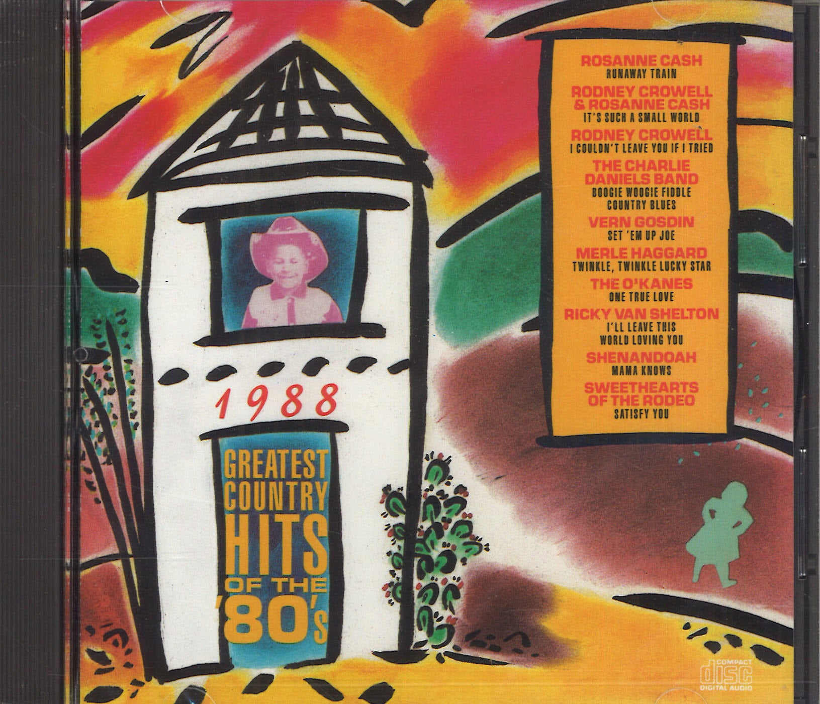 Various Artists Country Hits Of The '80's - 1988
