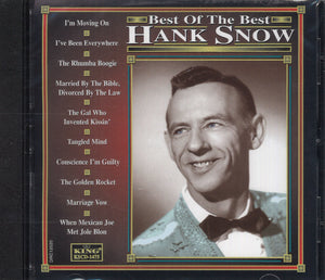 Hank Snow Best Of The Best