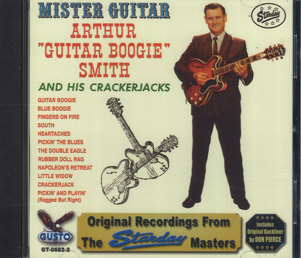 "Arthur ""Guitar Boogie"" Smith Mister Guitar"
