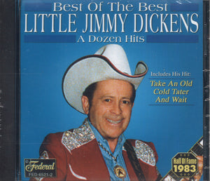 Little Jimmy Dickens Best Of The Best