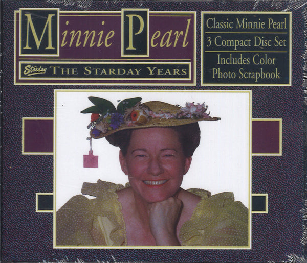 Minnie Pearl The Starday Years: 3 CD Set