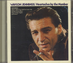 Waylon Jennings Heartaches By The Number