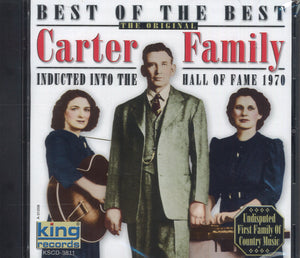 Carter Family Inducted Into The Hall Of Fame 1970