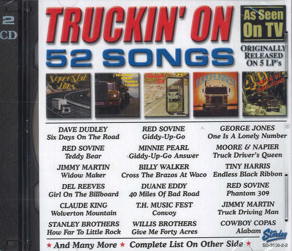 Various Artists Truckin' On: 2 CD Set