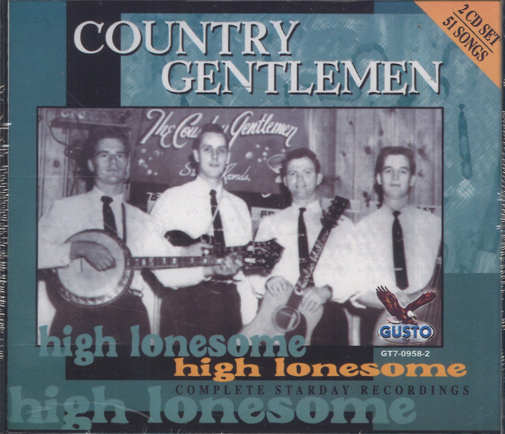 Country Gentlemen High Lonesome: 2 CD Set