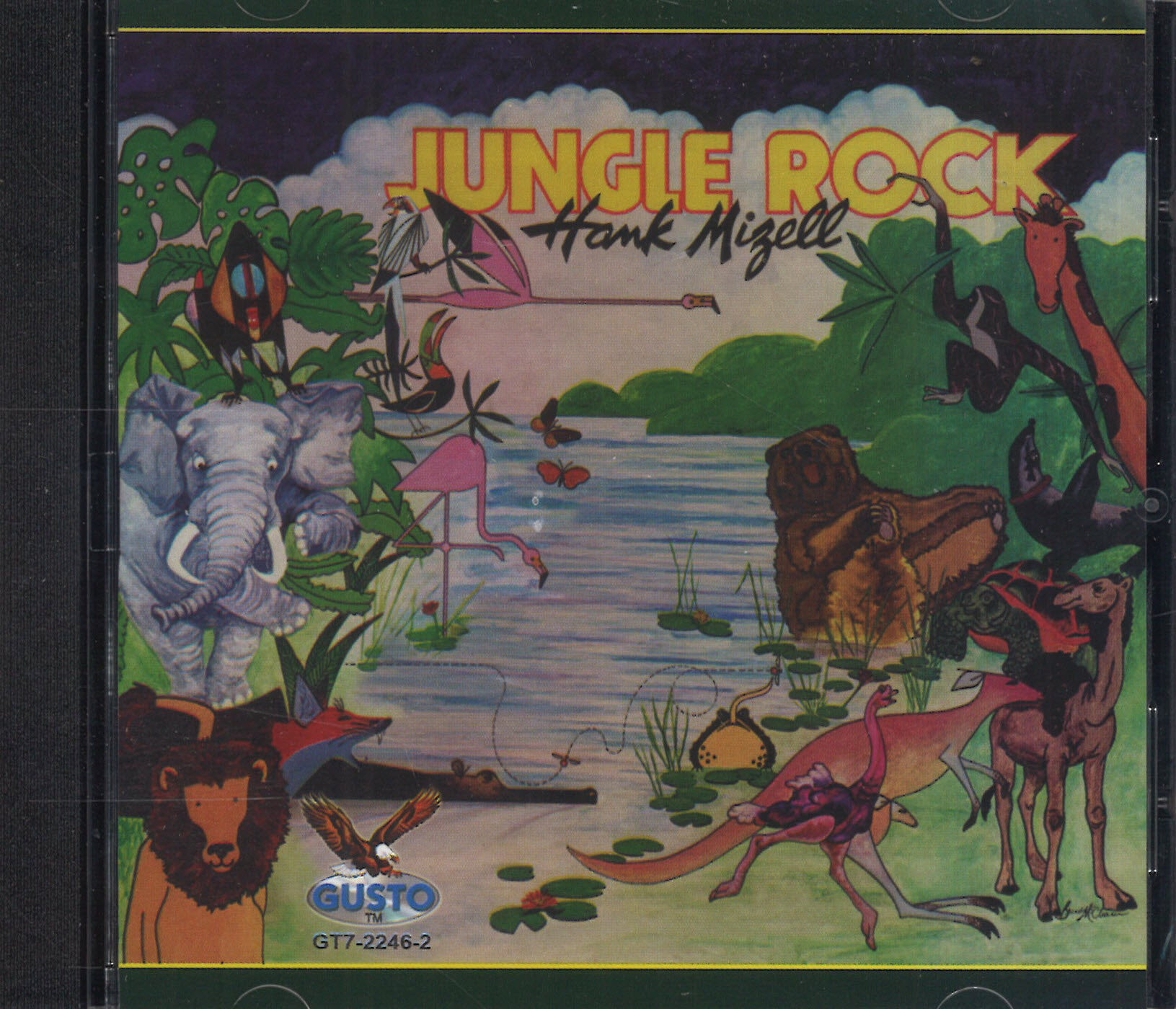 Hank Mizell Jungle Rock