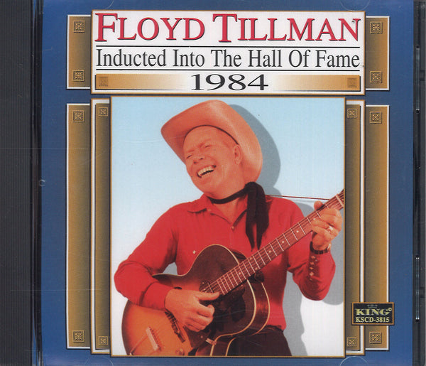 Floyd Tillman Inducted Into The Hall Of Fame 1984