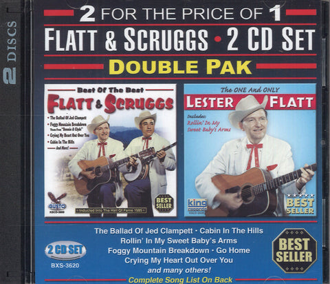 Flatt & Scruggs Flatt & Scruggs: 2 CD Set