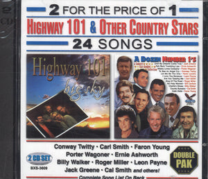 Highway 101 & Other Country Stars: 2 CD Set