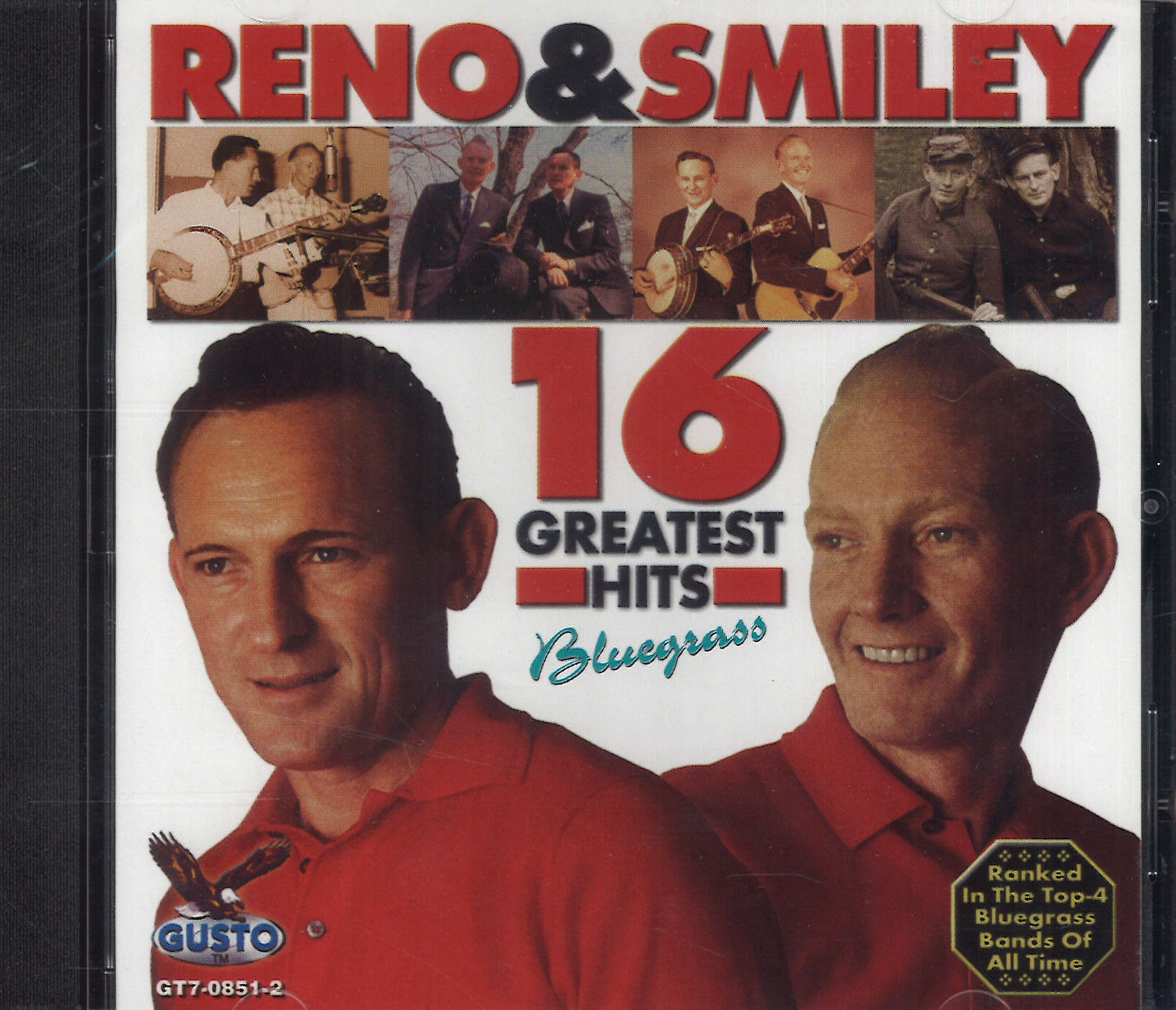 Reno & Smiley 16 Greatest Hits Bluegrass