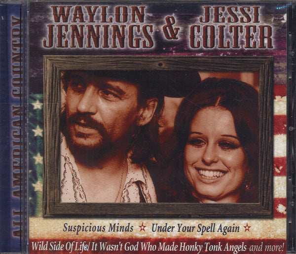 Waylon Jennings & Jessie Coulter All American Country
