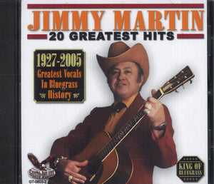 Jimmy Martin 20 Greatest Hits