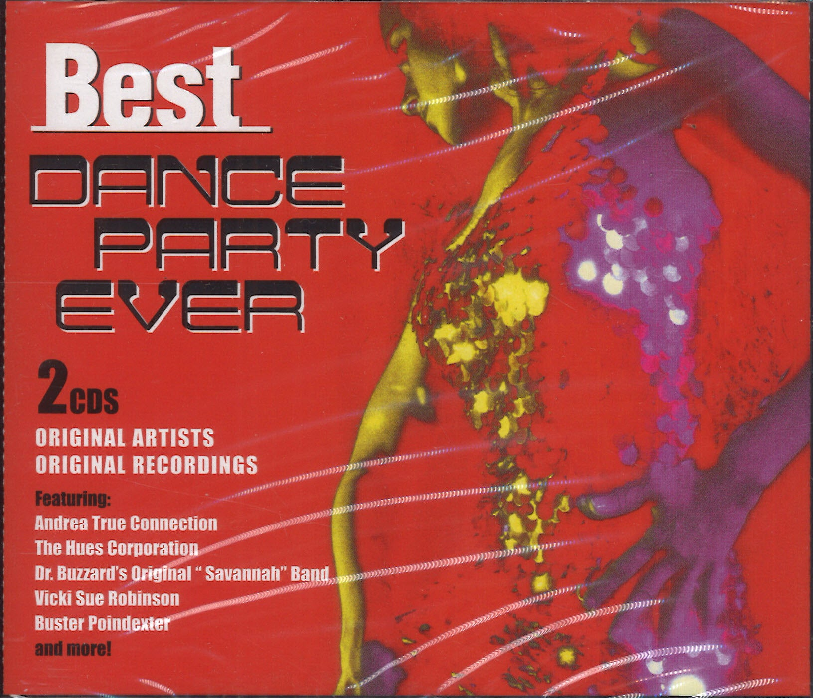 Various Artists Best Dance Party Ever: 2 CD Set