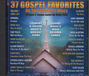 Various Artists 37 Gospel Favorites: 2 CD Set