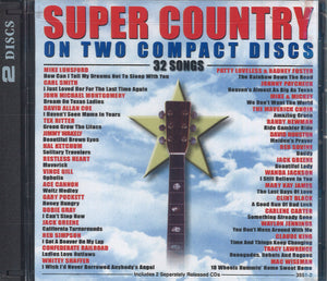 Various Artists Super Country: 2 CD Set