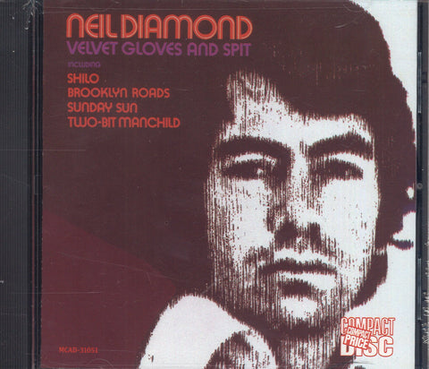 Neil Diamond Velvet Gloves And Spit
