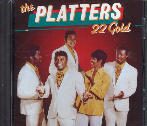The Platters 22 Gold