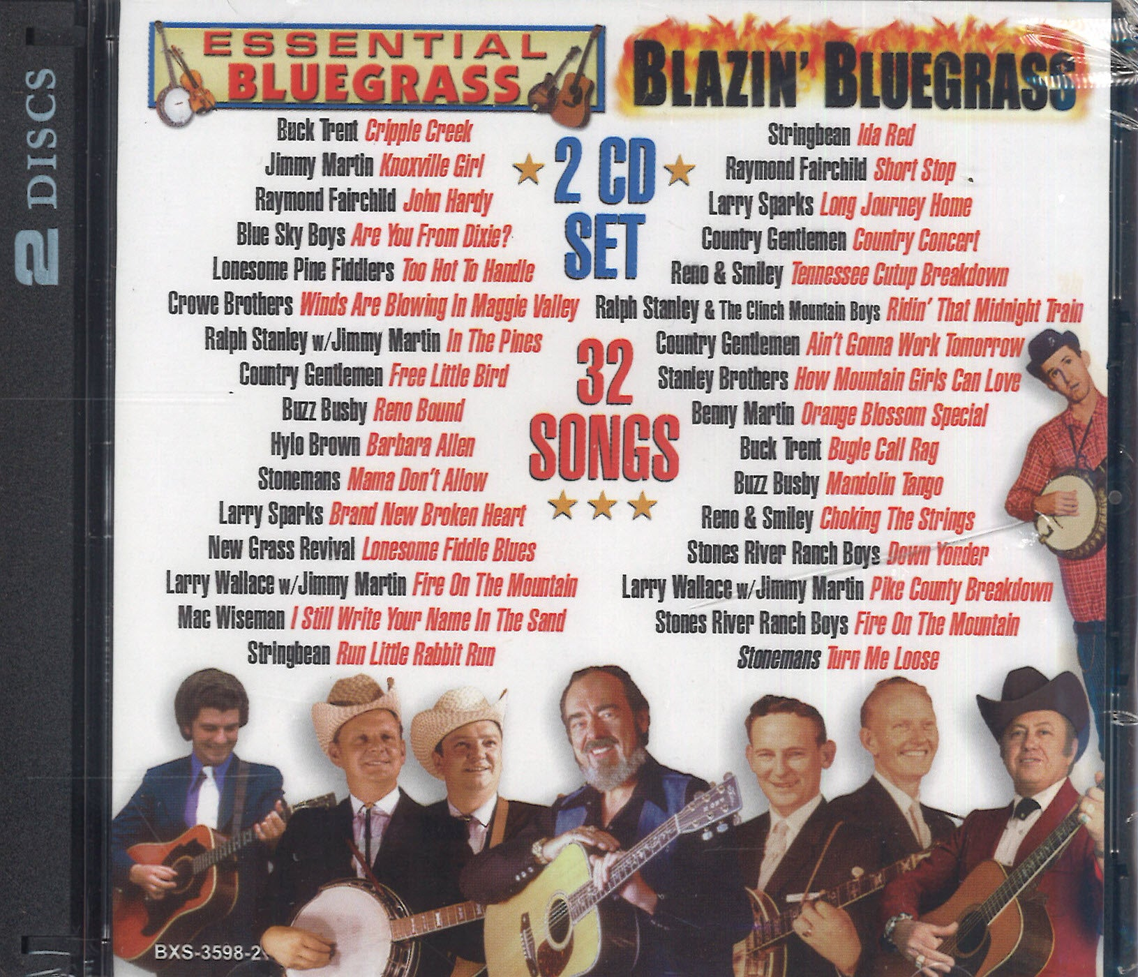 Various Artists Blazin' Bluegrass: 2 CD Set