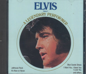 Elvis Presley A Legendary Performer Volume 2