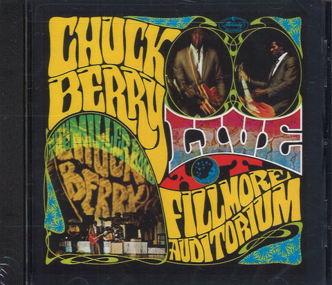 Chuck Berry Live At Fillmore Auditorium