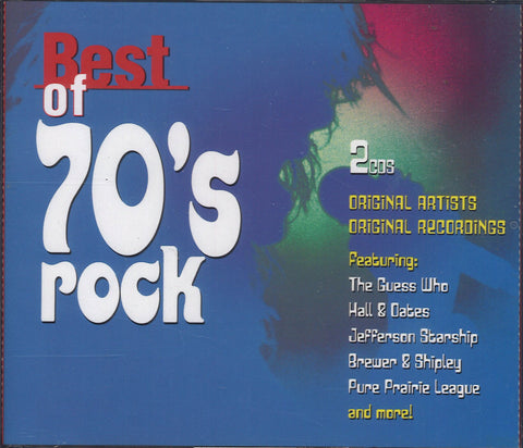 Various Artists Best Of 70's Rock: 2 CD Set