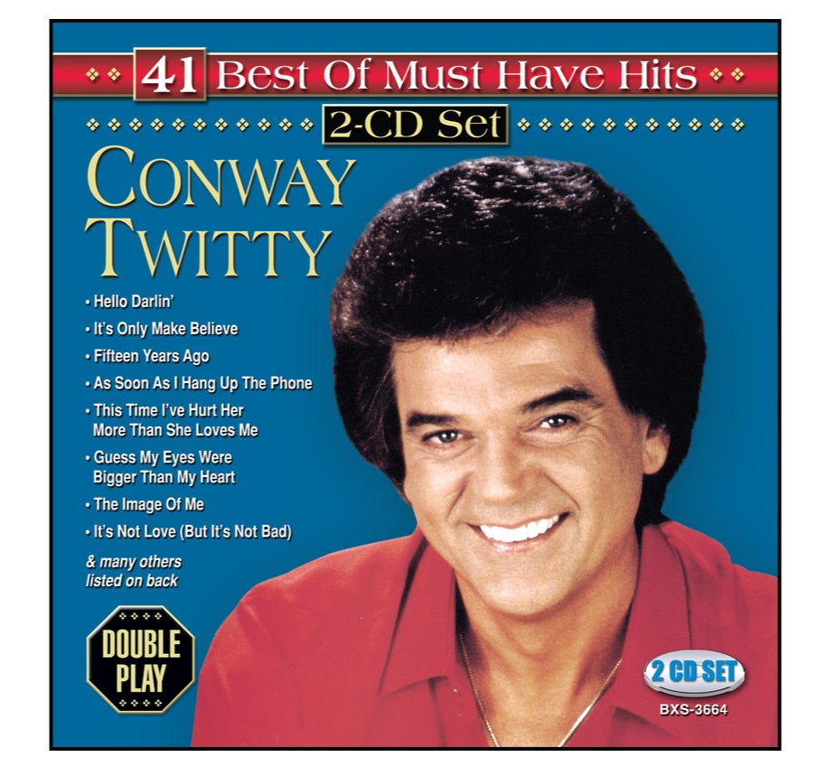 Conway Twitty 2CD: 41 Best of Must Have Hits
