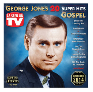 George Jones 20 Super Hits Gospel