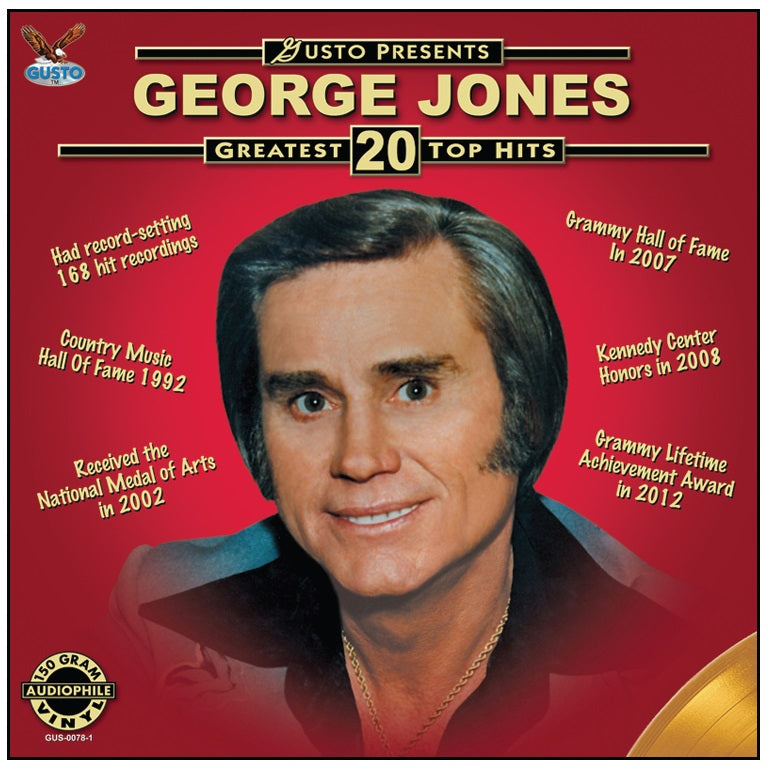 George Jones Gusto Presents 20 Greatest Top Hits