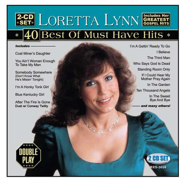 Loretta Lynn 2CD: 40 Best Of Must Have Hits