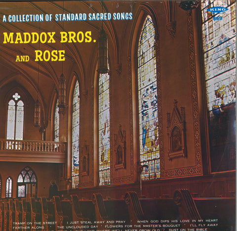 Maddox Bros & Rose A Collection Of Standard Sacred Songs LP