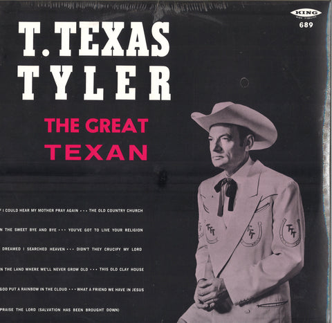 T. Texas Tyler The Great Texan