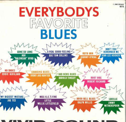 Various Artists Everybodys Favorite Blues