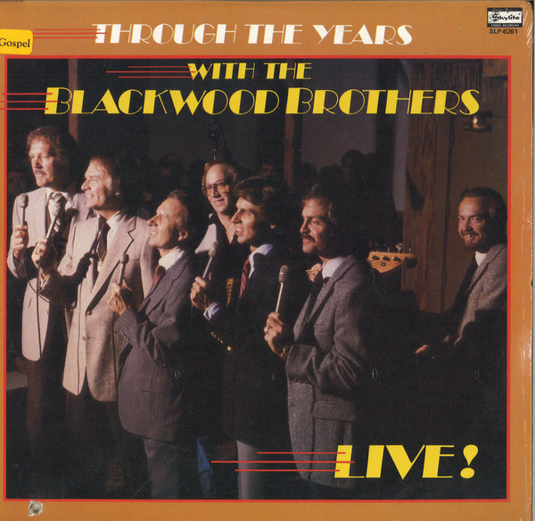 Through The Years With The Blackwood Brothers Live!