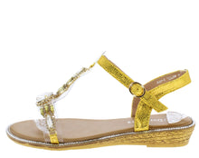 Load image into Gallery viewer, AA98 Yellow Women's Sandal - Wholesale Fashion Shoes ?id=16684393365548