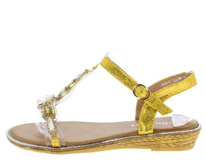 AA98 Yellow Women's Sandal - Wholesale Fashion Shoes ?id=16684393365548