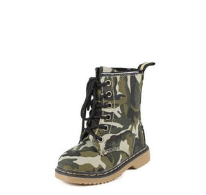 ALYSON01KA CAMOUFLAGE COMBAT INFANT BOOT