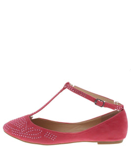 Bella09 Coral Rhinestone T-strap Flat - Wholesale Fashion Shoes ?id=1045210065