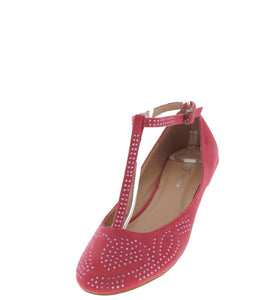 Bella09 Coral Rhinestone T-strap Flat - Wholesale Fashion Shoes ?id=1045210061