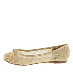 Betty8 Beige Lace Bow Ballet Flat - Wholesale Fashion Shoes ?id=1047175909