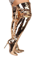 Load image into Gallery viewer, Celine Rose Gold Women's Boot - Wholesale Fashion Shoes
