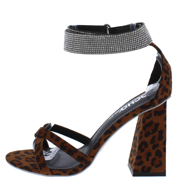 Cancun02 Leopard Suede Open Toe Sparkle Ankle Strap Angled Heel - Wholesale Fashion Shoes ?id=15773704912940
