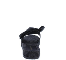 Load image into Gallery viewer, Carmel Black Tied Bow Open Toe Mule Slide Flat Sandal - Wholesale Fashion Shoes ?id=18091919933484