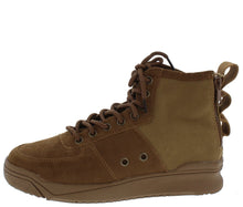 Load image into Gallery viewer, Classic1 Tan Dual Rear Zip Lace Up Sneaker Boot