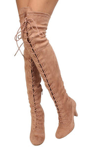 Dasia14 Dusty Pink Women's Boot - Wholesale Fashion Shoes